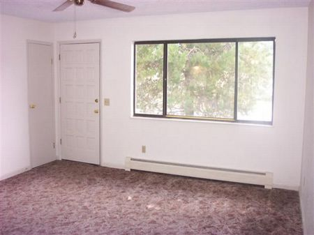 Nice living room with large window to let the sun shine in.  3 bedrooms and 2 full baths are also fresh and welcoming.